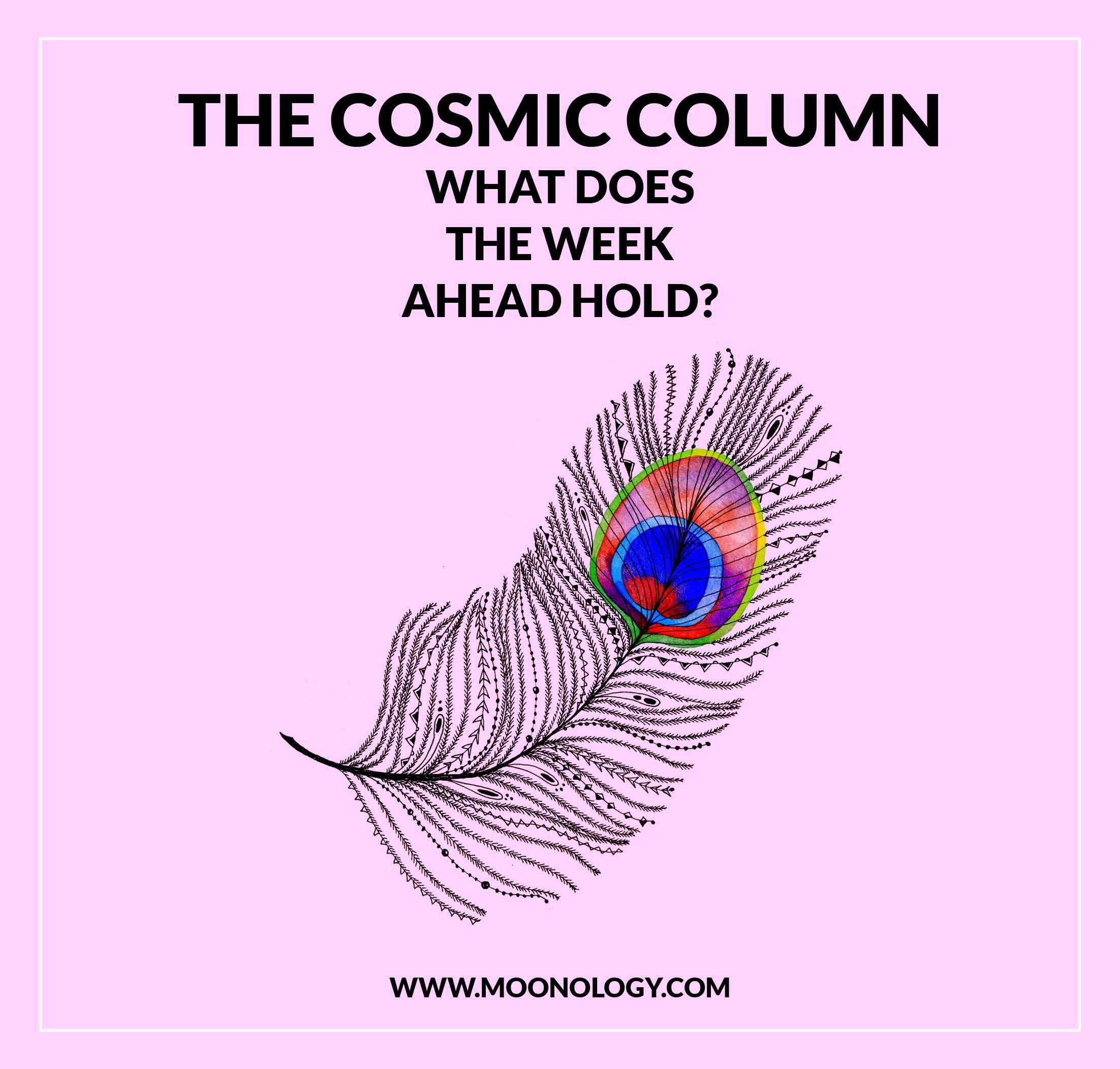 Why there was no Cosmic Column this week!