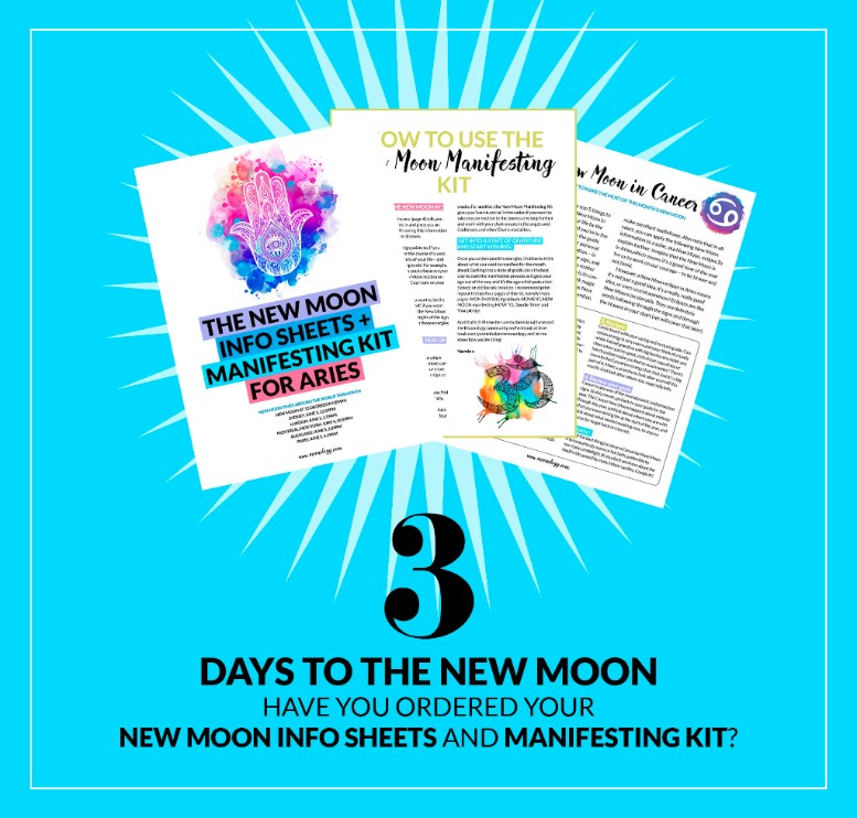 3 days to the New Moon – here's how to make magic with it