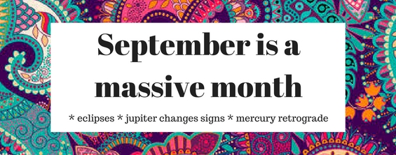 September is a massive month
