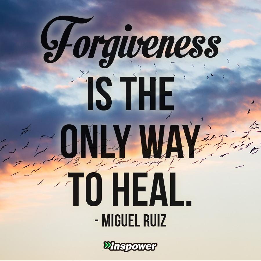 Forgiveness. What's in it for you?