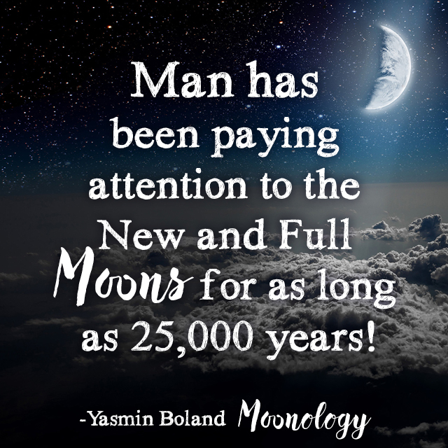 As we move towards the Full Moon…