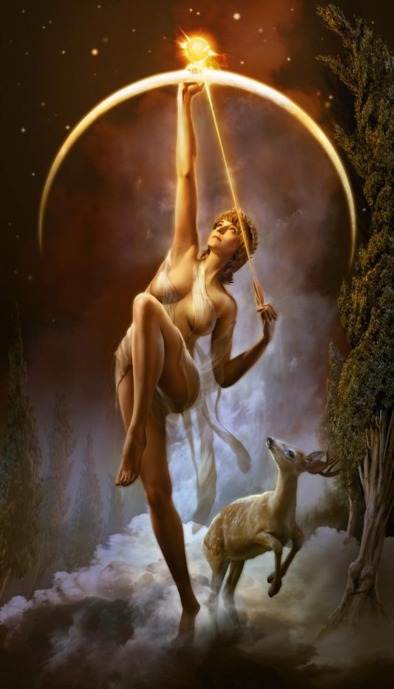 Artemis_Diana_Greek_Goddess_Art_06_by_catherine_la_rose