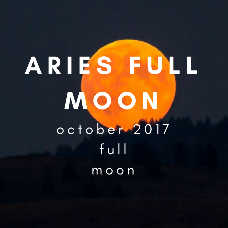October 2017 Full Moon in Aries