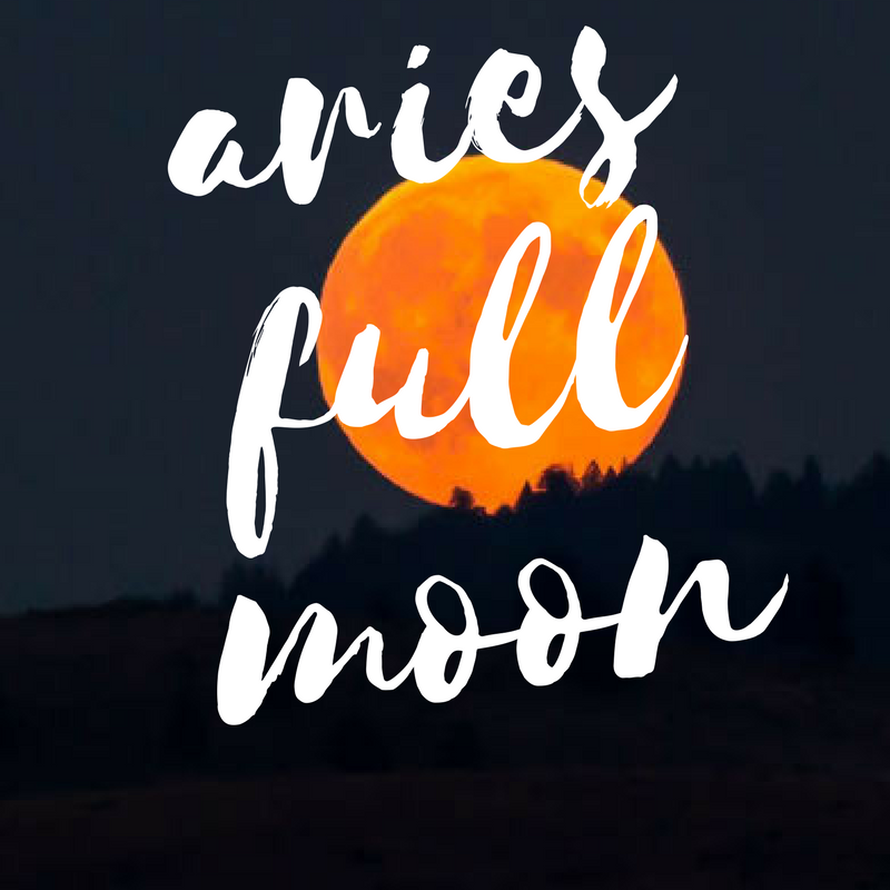 September 2018 – Full Moon in Aries