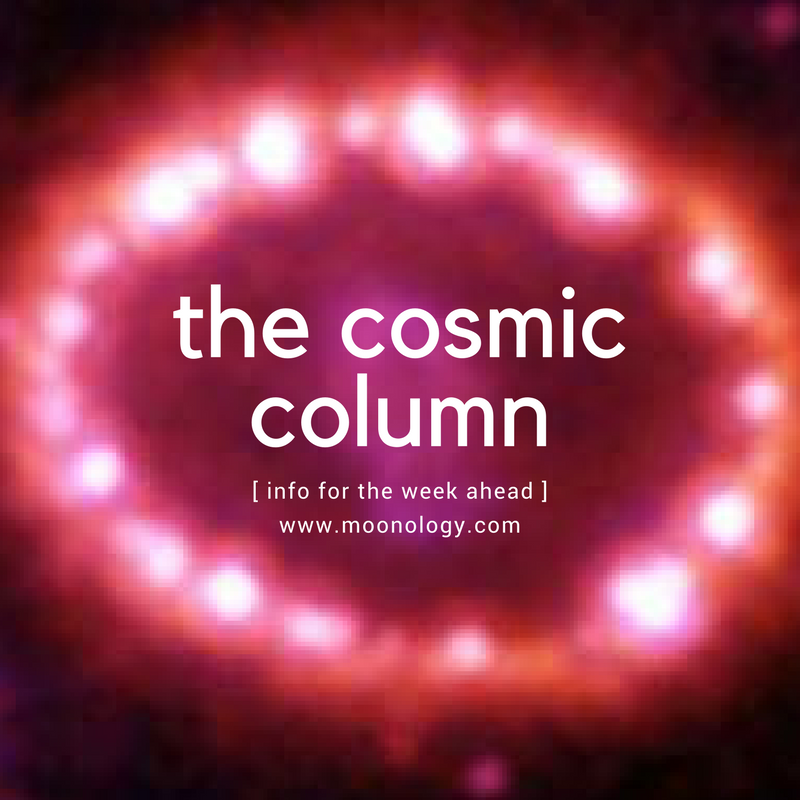 News about the Cosmic Column