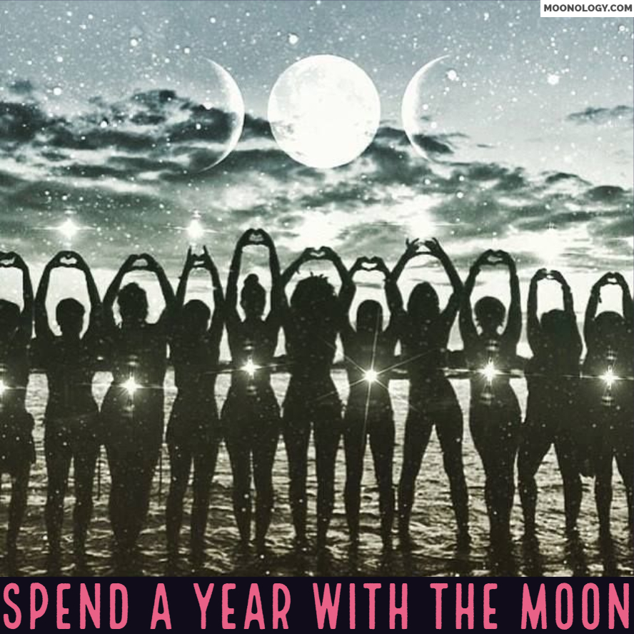 Do you want to connect with the Moon throughout 2019?