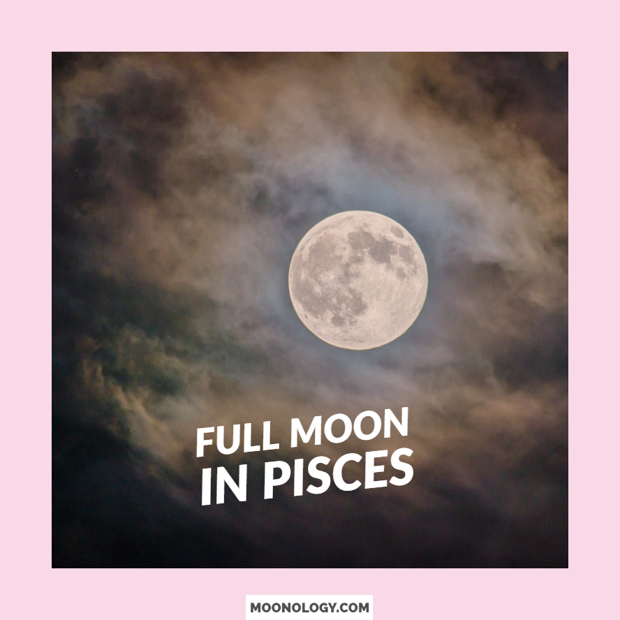 August 2018 – Full Moon in Pisces