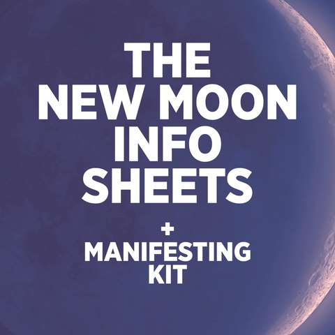 new moon info sheets