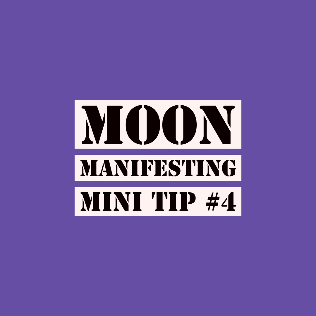 Moon Manifesting Tip 4 :: The 12 Month New Moon Planner