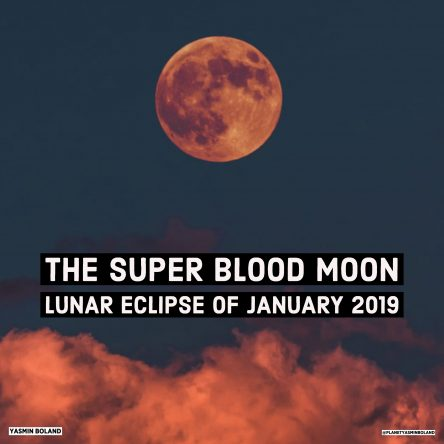 The Super Blood Moon Lunar Eclipse of January 2019