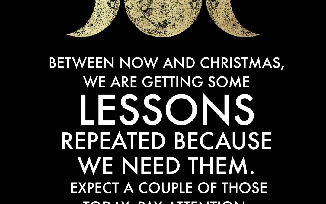 Between now and Christmas