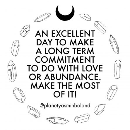 An excellent day to make a long term commitment